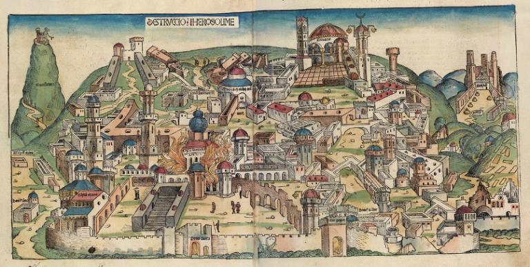 Jerusalem, Destruction of - Nuremberg_chronicles - Copy