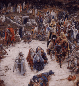 The Crucifixion, seen from the Cross, by James Tissot
